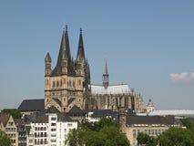 Panorama de Koeln foto de stock