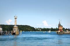Panorama de Konstanz fotos de stock royalty free