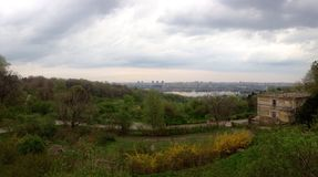 Panorama de Kyiv images libres de droits