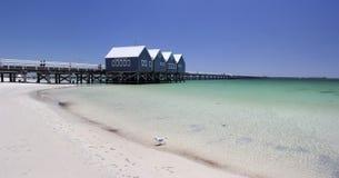 Panorama de l'Australie occidentale de jetée de Busselton Image stock