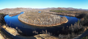 Panorama de l'Inner Mongolia Photo stock