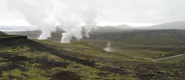 Panorama de l'Islande photo stock