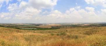 Panorama de l'Israël Photo stock