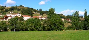 Panorama de la aldea foto de archivo libre de regalías