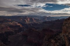 Panorama de la barranca magnífica Imagenes de archivo