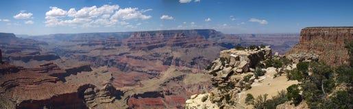 Panorama de la barranca magnífica Fotografía de archivo libre de regalías