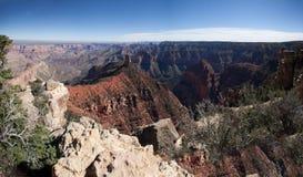 Panorama de la barranca magnífica Imagen de archivo libre de regalías