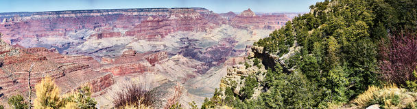 Panorama de la barranca magnífica Fotos de archivo libres de regalías
