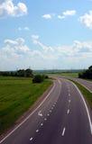Panorama de la carretera Imagenes de archivo