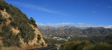 Panorama de la carretera 33 Fotografía de archivo libre de regalías