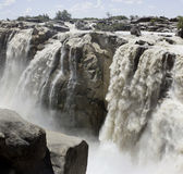 Panorama de la cascada de Augrabies Imagen de archivo