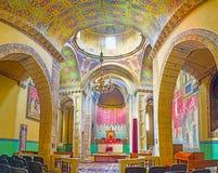 Panorama de la catedral armenia en Lvov Foto de archivo