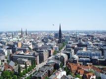 Panorama de la ciudad Foto de archivo libre de regalías