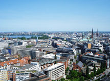 Panorama de la ciudad Fotos de archivo