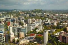 Panorama de la ciudad de Auckland Imagen de archivo libre de regalías