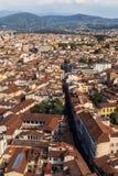 Panorama de la ciudad de Florencia Fotos de archivo