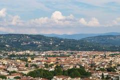Panorama de la ciudad de Florencia Imagen de archivo libre de regalías