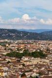 Panorama de la ciudad de Florencia foto de archivo libre de regalías