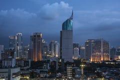 Panorama de la ciudad de Jakarta Fotos de archivo