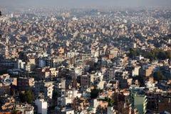 Panorama de la ciudad de Katmandu Fotos de archivo
