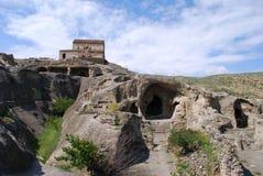 Panorama de la ciudad de piedra Imagenes de archivo