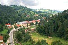 Panorama de la ciudad del salvado Foto de archivo libre de regalías