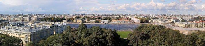 Panorama de la ciudad europea Fotografía de archivo