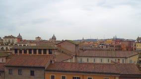Panorama de la ciudad de Roma Visión desde Capitol Hill almacen de metraje de vídeo