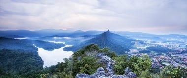 Panorama de la colina de Tabur Foto de archivo libre de regalías