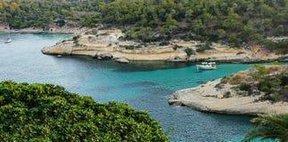 Panorama de la costa costa Imagenes de archivo