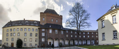 Panorama de la definición de Alemania del kleve del castillo del schwanenburg el alto Fotos de archivo libres de regalías