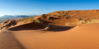 Panorama de la dune d'Elim Photos libres de droits