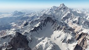 Panorama de la montaña libre illustration
