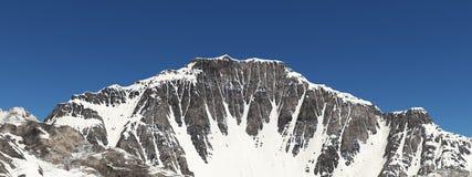 Panorama de la montaña stock de ilustración