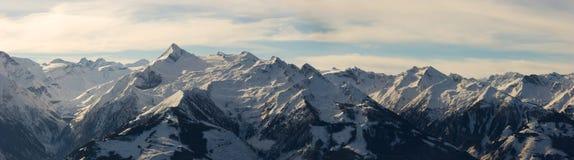 Panorama de la montaña Imagen de archivo