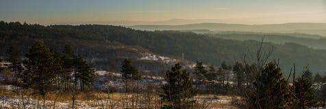Panorama de la montaña Foto de archivo