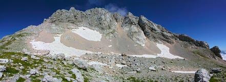 Panorama de la montaña de Fisht Imagen de archivo