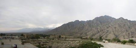 Panorama de la montaña de Helan Imagen de archivo libre de regalías