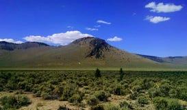 Panorama de la montaña del pino Imagen de archivo