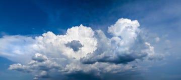 Panorama de la nube Foto de archivo libre de regalías