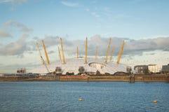 Panorama de la península de Greenwich Fotos de archivo