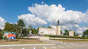 Panorama de la place célèbre de révolution de la ville de Santa Cl Image libre de droits