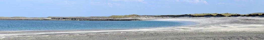 Panorama de la playa de la isla de Irlanda Aran Fotografía de archivo libre de regalías