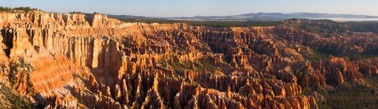Panorama de la punta de Bryce Foto de archivo libre de regalías