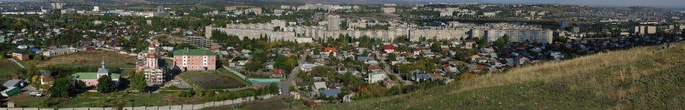 Panorama de la región leninista Foto de archivo libre de regalías