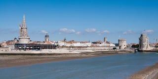 Panorama de La Rochelle Foto de Stock