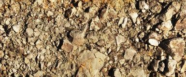 Panorama de la tierra seca Fotografía de archivo