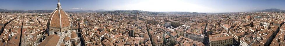 Panorama de la torre de Giotto Foto de archivo libre de regalías