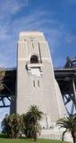 Panorama de la torre del puente de Sydney fotos de archivo