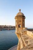 Panorama de La Valette Malte 2013 image libre de droits